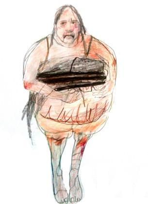 Katja Brunner- Aendere den Aggregatzustand deiner trauer-Entwurf Kostüm 3